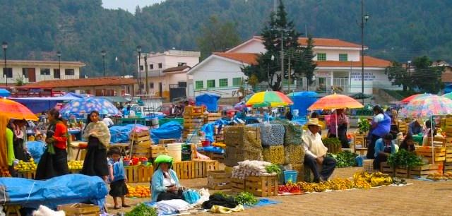 Mercato a San Juan de Chomula