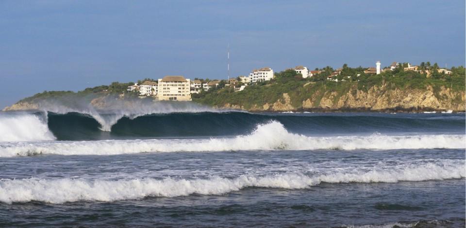 Puerto Escondido è conosciuta dai surfisti per le sue onde