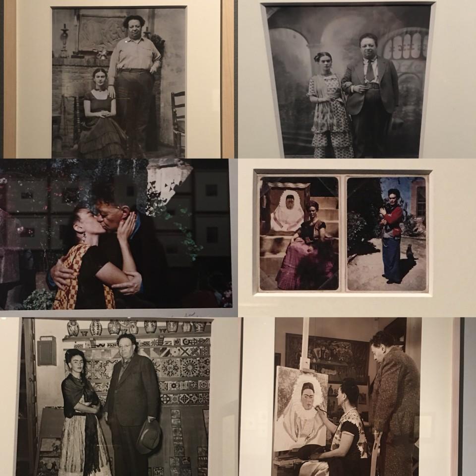 Collage di foto di famiglia