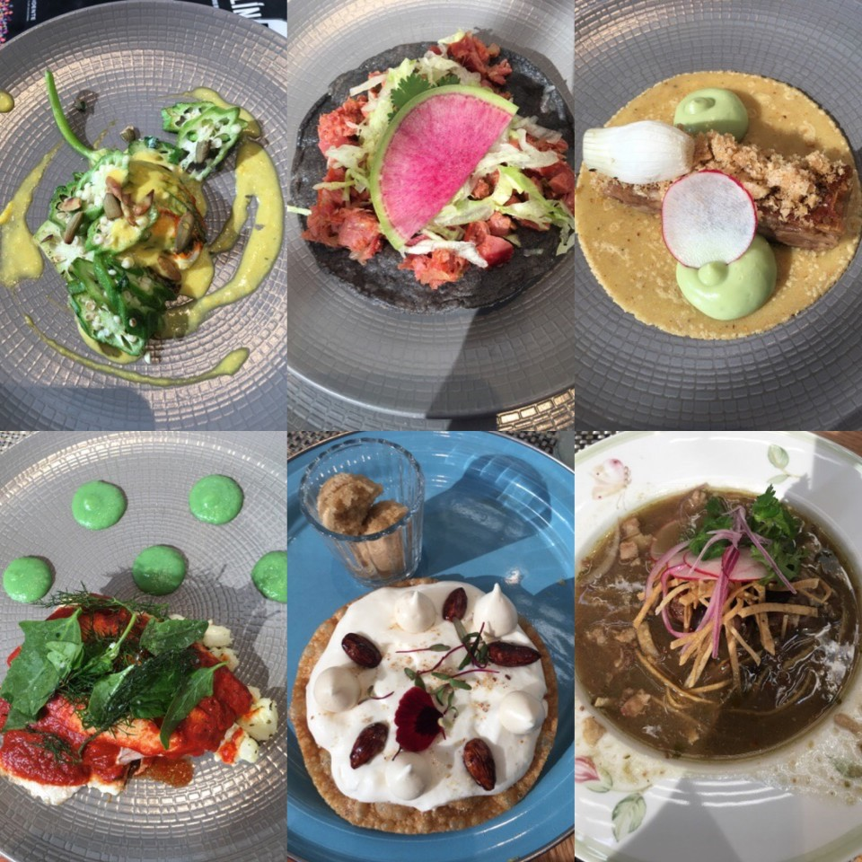 Un collage di alcune proposte in menu