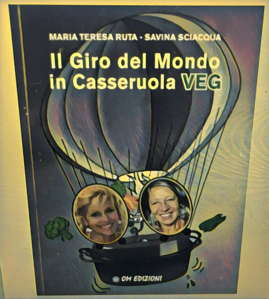 L'ultimo libro firmato da Maria Teresa Ruta insieme al Direttore Savina Sciacqua.