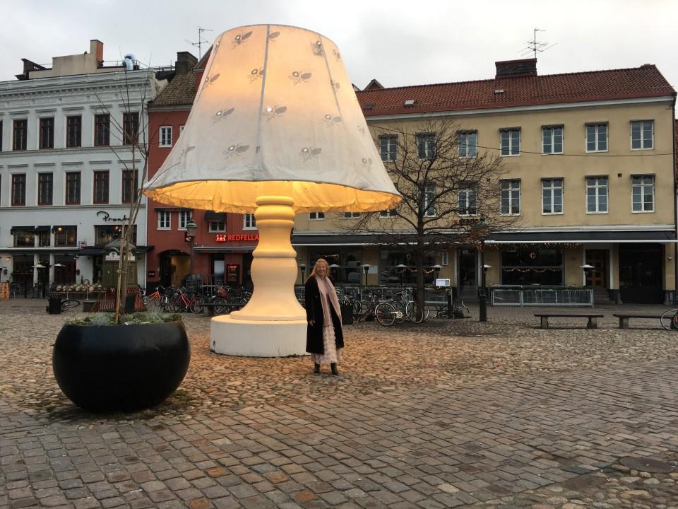 Nella famosa piazzetta Lilla Torg