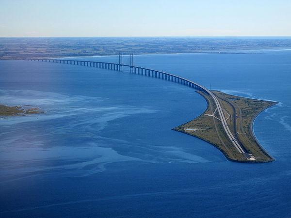 Oresund bridge, il momento in cui si riemerge dalle acque