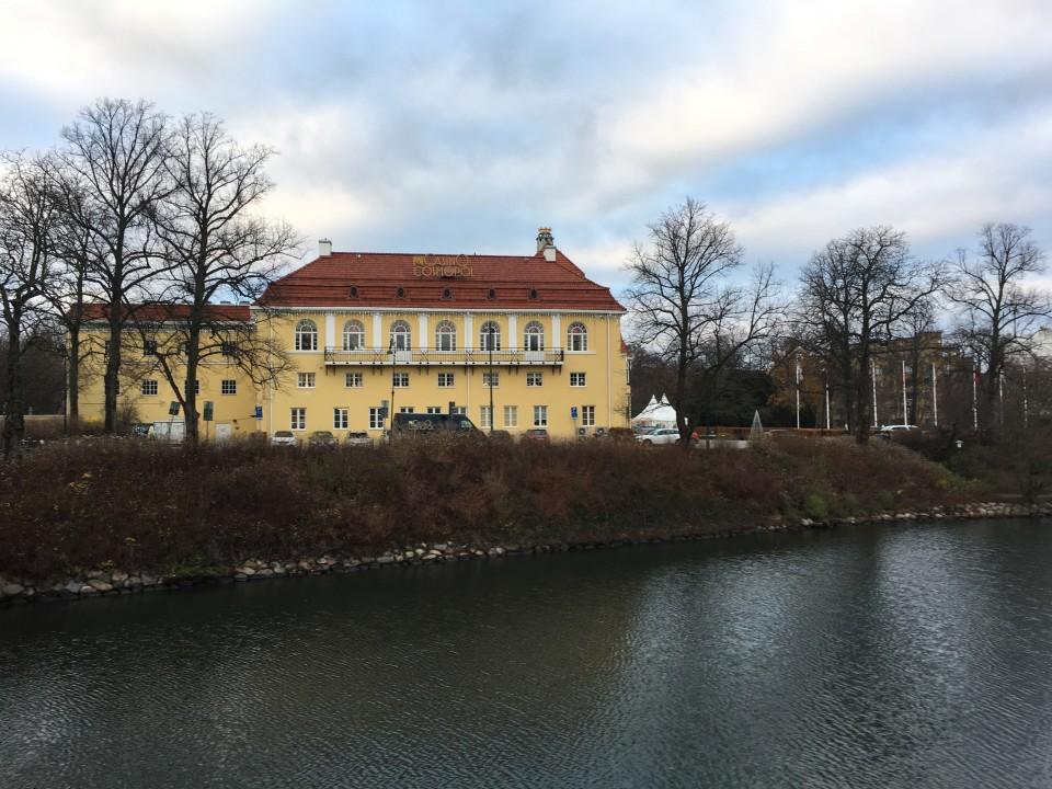 Parco Kungsoarken con il casinò