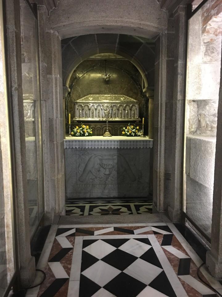 La tomba dell'Apostolo Giacomo