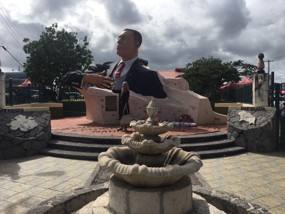 Nella capitale di Antigua