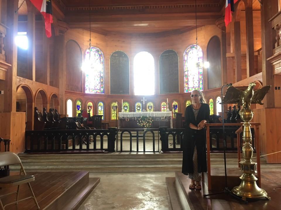 Dentro la Cattedrale di Antigua
