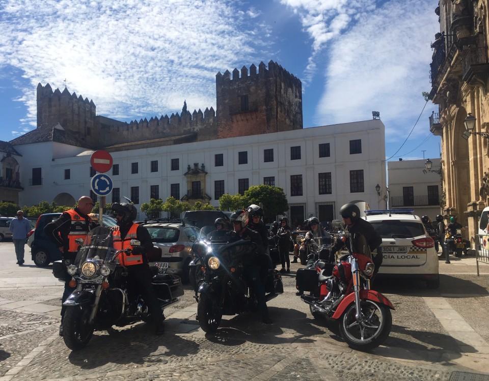Un raduno ad Arcos de la Frontera
