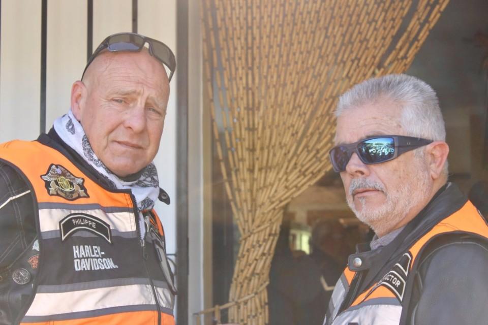 I responsabili del Marbella Chapter, Philippe a sinistra e Rafa a destra