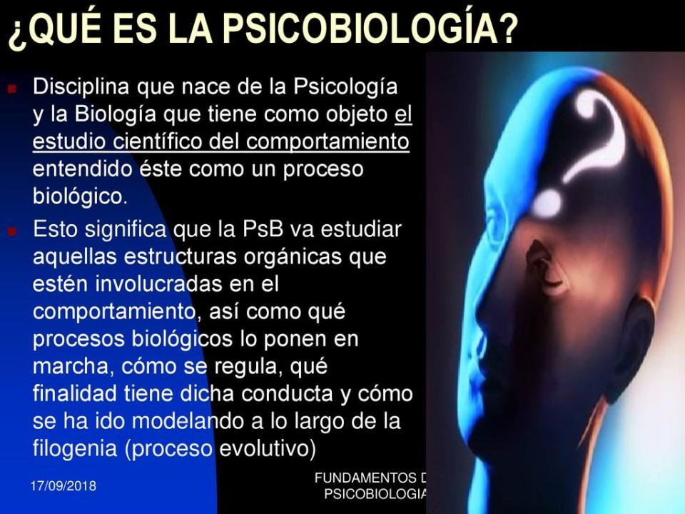Cos'è la Psicobiologia