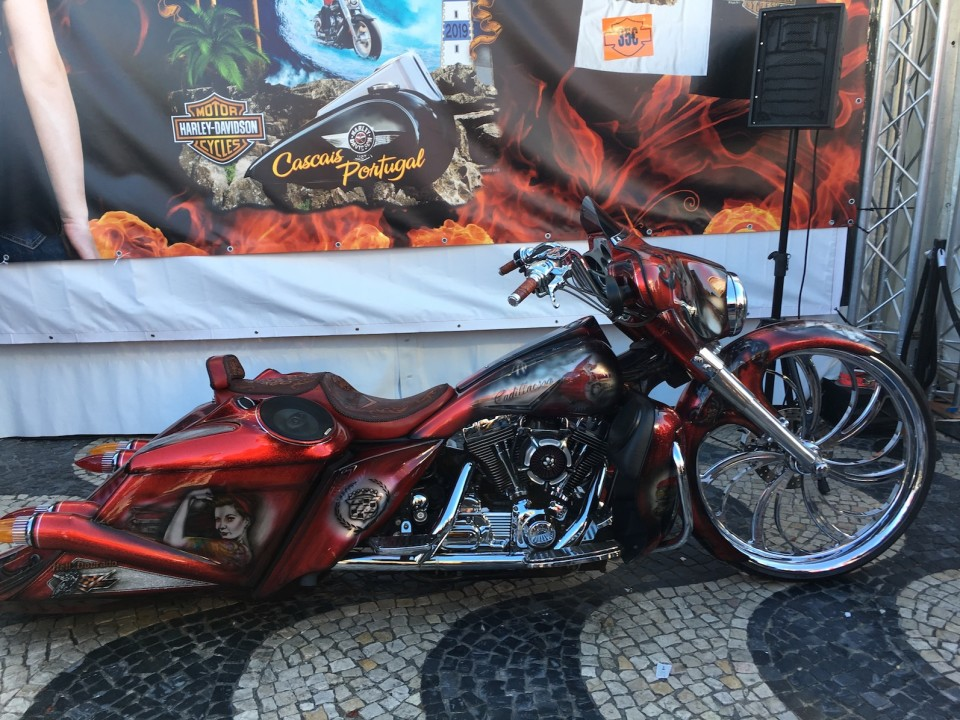 Moto old style