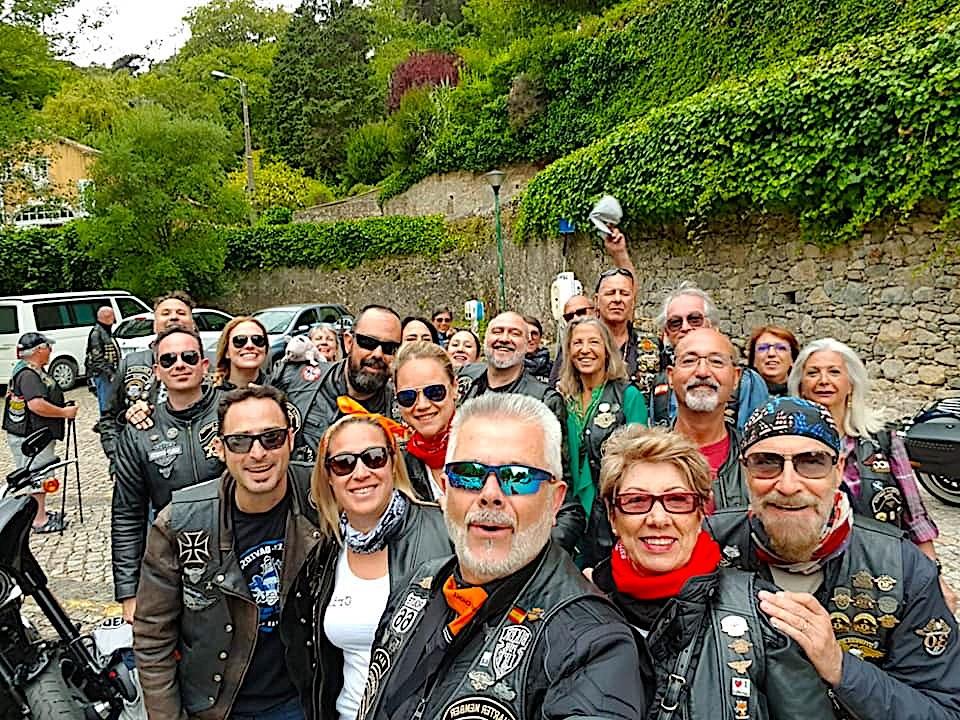 Una piccola parte del gruppo del Marbella Chapter