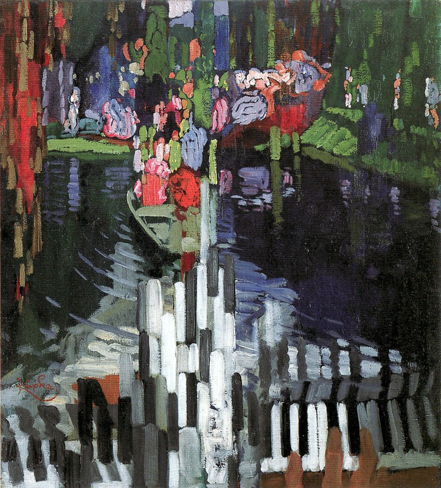 Piano lago 1905