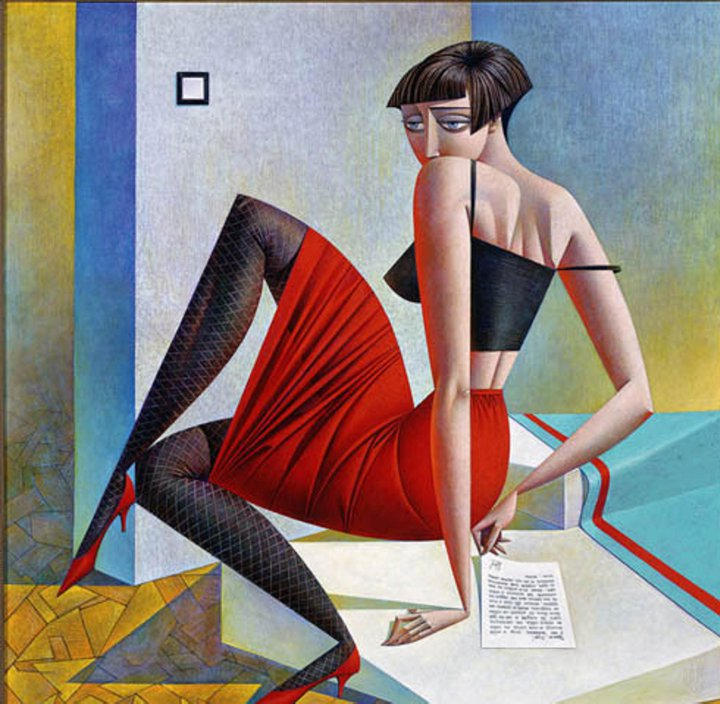 Le donne di Georgy Kurasov