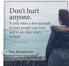 Non ferire nessuno