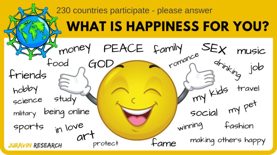 Domandiamoci cosa ci fa felici