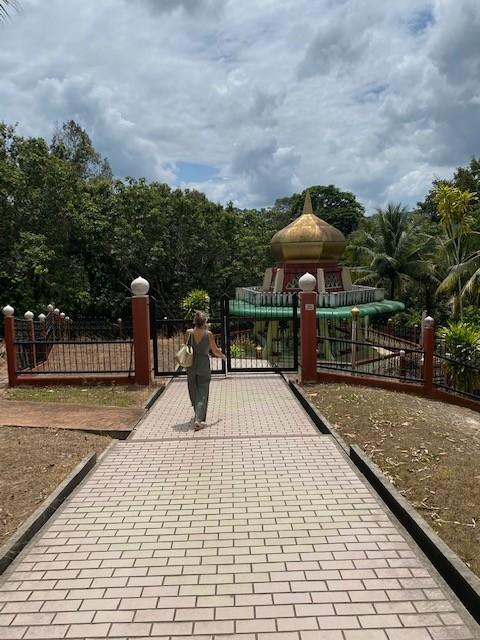 Visita al Mausoleo del Sultano Sharif Ali