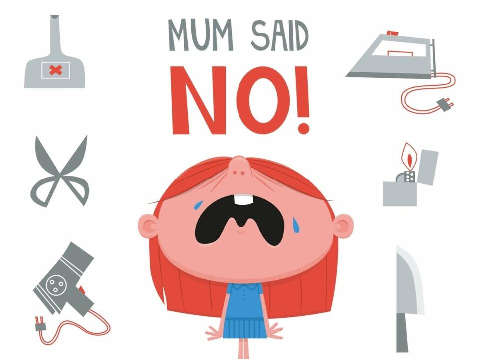 Accettare che quando si dice no i bimbi e i ragazzi si arrabbino