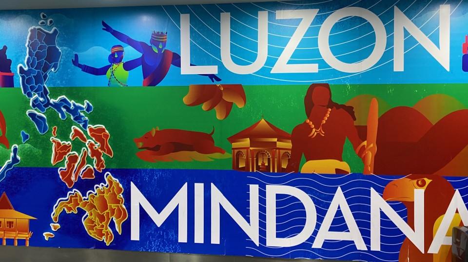 In aeroporto suggeriscono Luzon e Mindanao