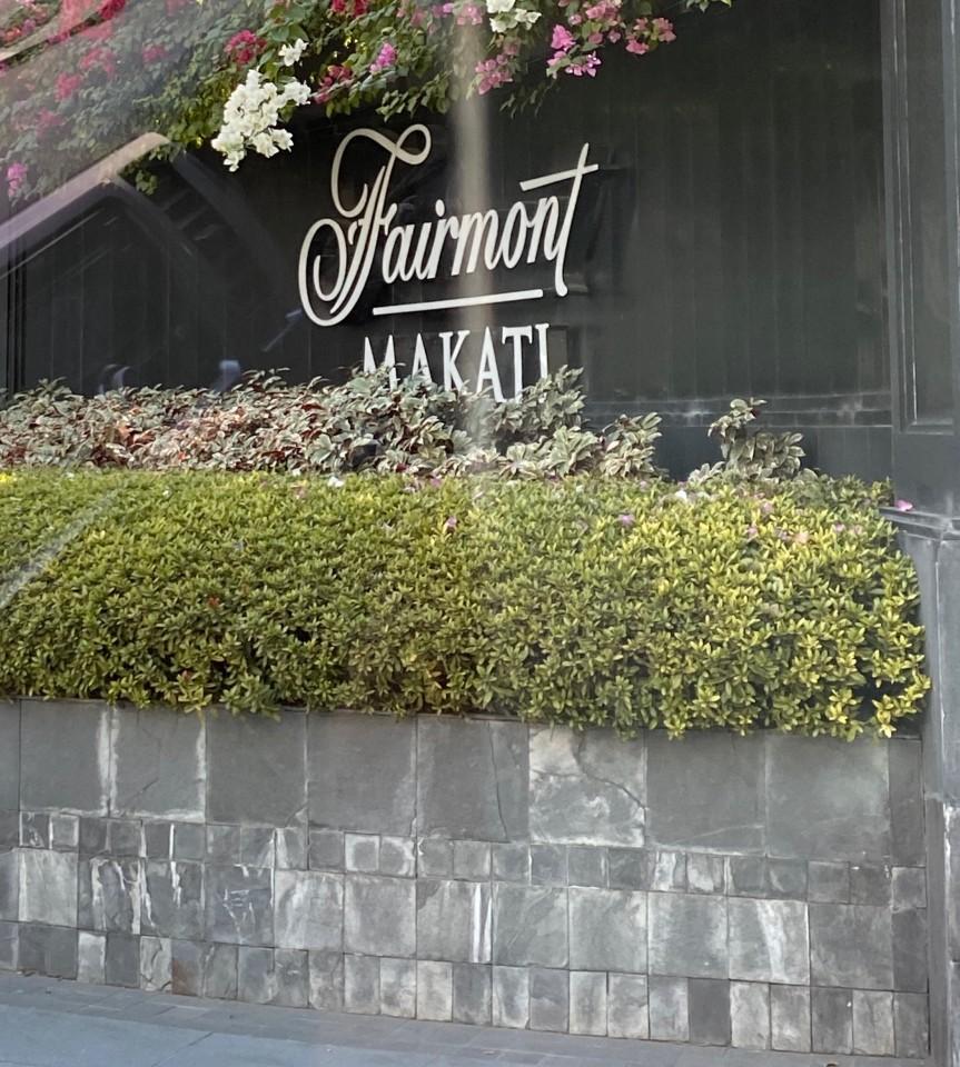 Al Fairmont di Makati, uno dei quartieri più ricchi ed in espansione