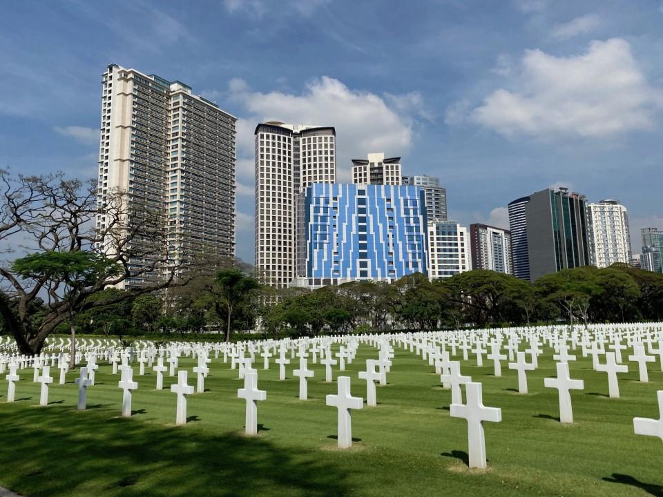 Il Cimitero Americano di Manila