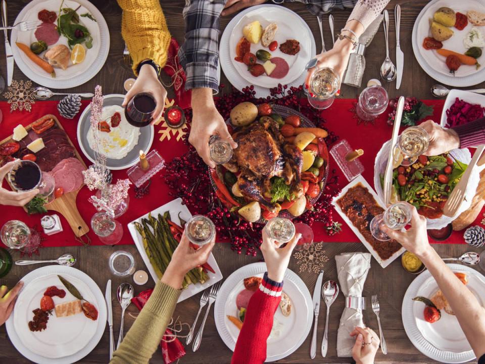 Aspettate con gioia la cena di Natale?