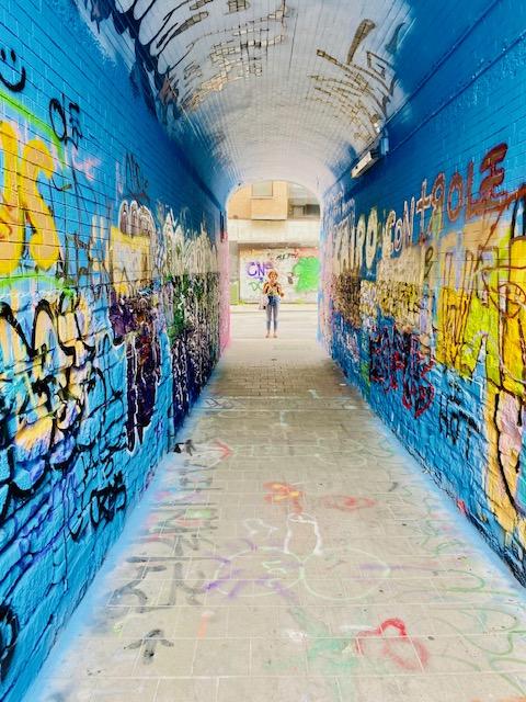 La strada dei Graffiti