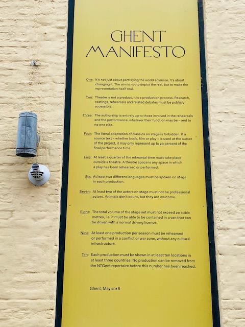 Il Manifesto di Gent
